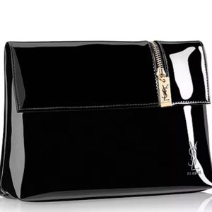 YSL Yves Saint Laurent Cosmetic Clutch